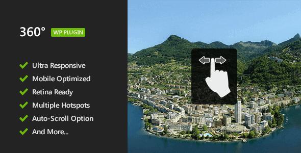 360 Panoramic Viewer 2.2.2 – WordPress Plugin