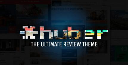 Huber 2.28.3 – Multi-Purpose Review Theme