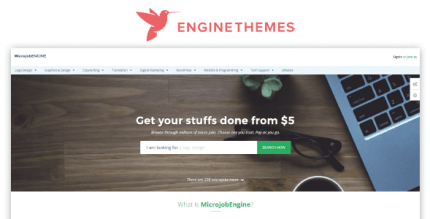 EngineThemes MicrojobEngine 1.3.9.4 Plus Package