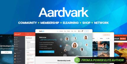 Aardvark 4.36.1 – BuddyPress Membership & Community Theme