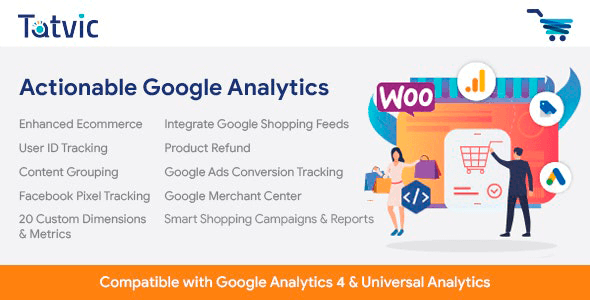 Actionable Google Analytics for WooCommerce CC-V4.1.0 NULLED