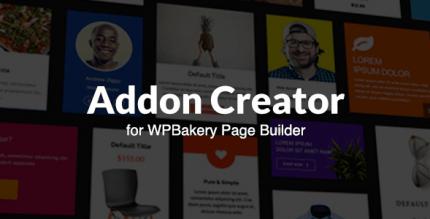 Addon Library Creator for Visual Composer 1.0.4
