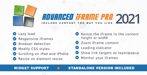 Advanced iFrame Pro 2021.4