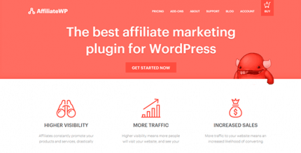 AffiliateWP 2.6.8 – Affiliate Marketing Plugin for WordPress