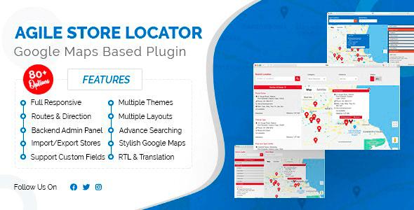 Agile Store Locator 4.6.36 NULLED – Store Locator (Google Maps) for WordPress