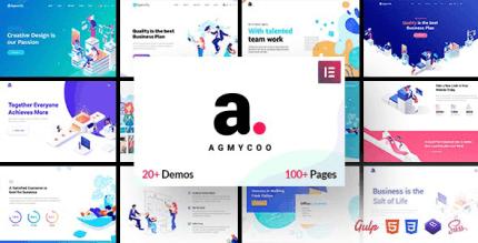 Agmycoo 1.9 – Isometric Startup Creative Digital Agency WordPress Theme