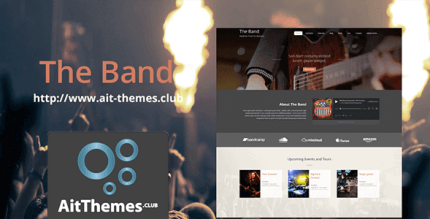 AIT Band 2.0.8 – Theme for Bands & Musicians