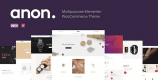 Anon 2.0.1 – Multipurpose Elementor WooCommerce Themes
