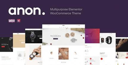 Anon 2.0.4 – Multipurpose Elementor WooCommerce Themes