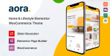 Aora 1.0.9 – Home & Lifestyle Elementor WooCommerce Theme