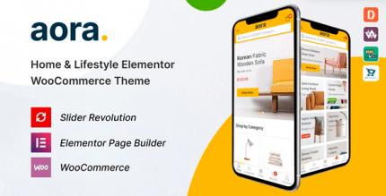 Aora 1.1.1 – Home & Lifestyle Elementor WooCommerce Theme