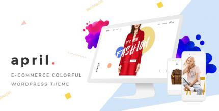 APRIL 5.1 – Wonderful Fashion WooCommerce WordPress Theme
