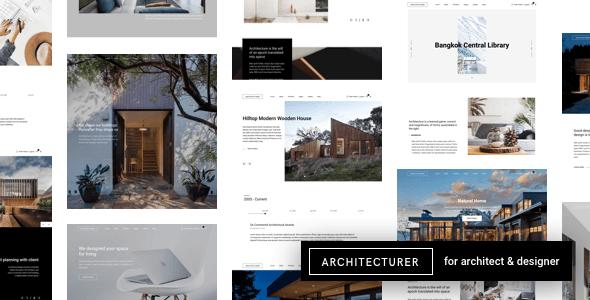 Architecturer 3.5.1 NULLED – Interior Design & Architecture WordPress