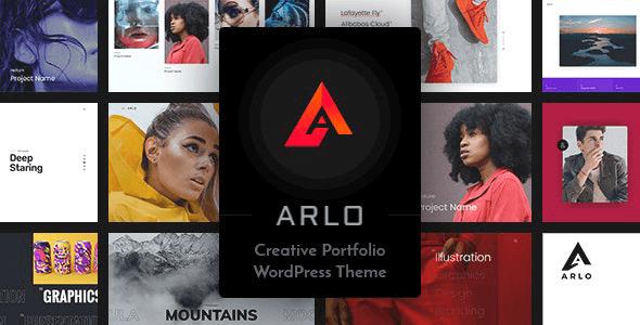 Arlo 4.0 – Portfolio WordPress Theme