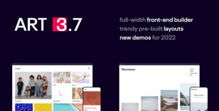 Art 3.8.0 – Simple WordPress Premium Portfolio