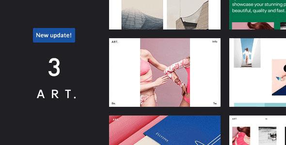 Art 3.6.0.1 – Simple WordPress Premium Portfolio