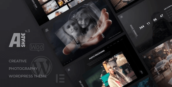 Ashade 5.0 – Photography WordPress Theme
