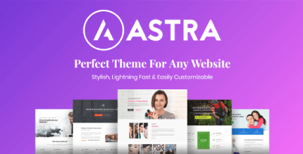 Astra Pro 3.4.2 NULLED – Perfect Theme For Any Website