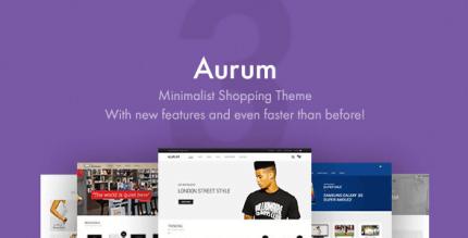 Aurum 3.12 – Minimalist Shopping Theme