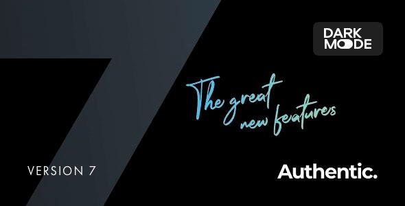 Authentic 7.0.0 NULLED – Lifestyle Blog & Magazine WordPress Theme