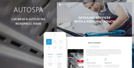 Auto Spa 3.1 – Car Wash Auto Detail WordPress Theme