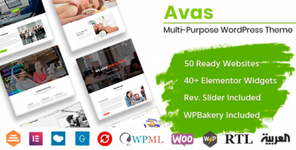 Avas 6.2.1.1 NULLED – Multi-Purpose WordPress Theme