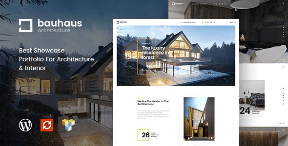 Bauhaus 1.2.6 – Architecture & Interior WordPress Theme