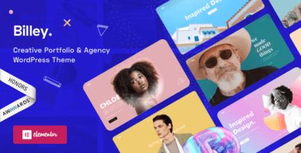 Billey 1.5.6 – Creative Portfolio & Agency WordPress Theme