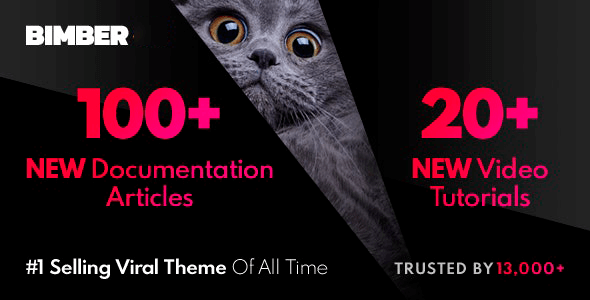 Bimber 8 6 3 Nulled Viral Buzz Wordpress Theme Wpnull Org