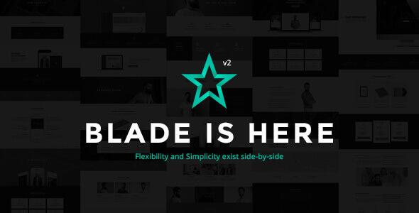 Blade 3.3.3 – Responsive Multi-Functional Theme