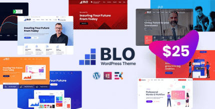 BLO 3.1 – Corporate Business WordPress Theme