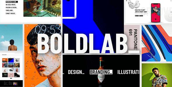 Boldlab 2.2 NULLED – Creative Agency Theme