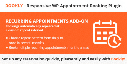 Bookly Recurring Appointments Add-on 3.9