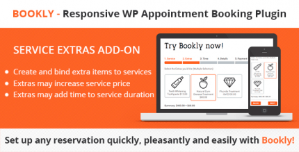 Bookly Service Extras Add-on 4.1