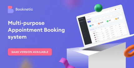 Booknetic 2.7.3 NULLED – WordPress Appointment Booking and Scheduling system