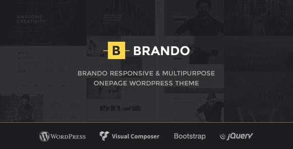 Brando 1.8 NULLED – Responsive and Multipurpose OnePage WordPress Theme