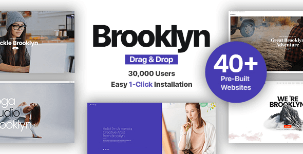 Brooklyn 4.9.7 NULLED – Creative One Page Multi-Purpose Theme