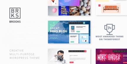 Brooks WP 1.1.4 – Creative Multi-Purpose WordPress Theme