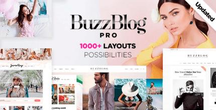Buzz 5.1 – Lifestyle Blog & Magazine WordPress Theme