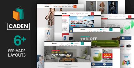 Caden 1.4.1 – Mega Store Responsive WordPress Theme
