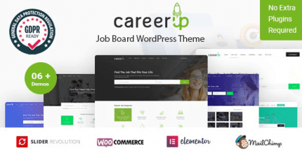 CareerUp 2.3.17 – Job Board WordPress Theme