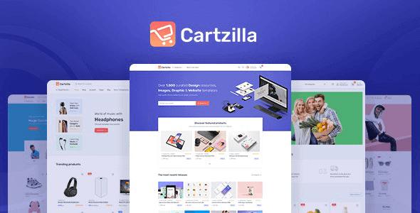 Cartzilla 1.0.10 – Digital Marketplace & Grocery Store WordPress Theme