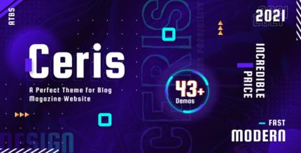 Ceris 3.5 – Magazine & Blog WordPress Theme