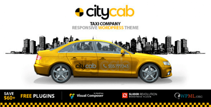CityCab 3.5.1 – Taxi Company & Taxi Firm WordPress Theme