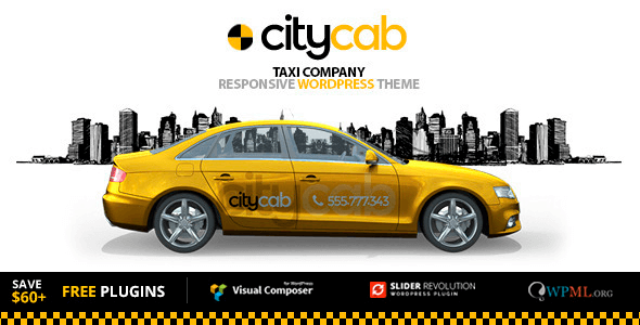 CityCab 3.5.1 – Taxi Company & Taxi Firm WordPress Theme