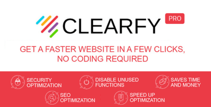Clearfy Pro 1.9.3 NULLED + Business Package 1.3.3