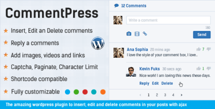 CommentPress 2.7.7 – Comment System Plugin for WordPress & Ajax Comments