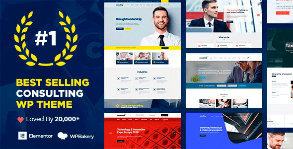 Consulting 6.2.2 NULLED – Business Finance WordPress Theme