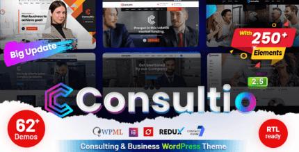 Consultio 2.6.0 – Consulting Business WordPress