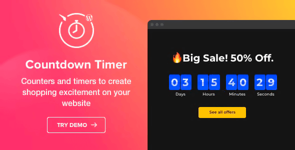 Countdown Timer 1.4.0 – WordPress Countdown Timer plugin